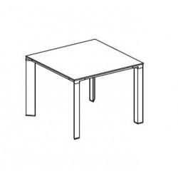 Tavolo riunioni dim. cm 100x100x75h