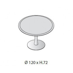 Tavolo riunione circolare diam. cm 120