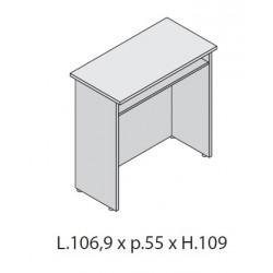 Bancone lineare per scrivania da cm 100