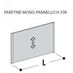 Paretine mono-pannello H.108
