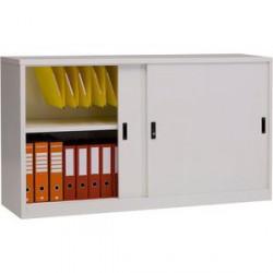 Sopralzo/armadio metallico cm 150x45x85h a porte scorrevoli