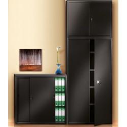 Sopralzo/armadio metallico cm 100x45x85h a porte battenti