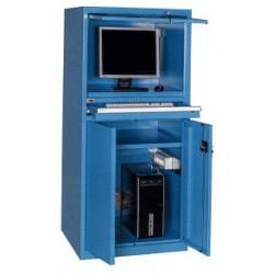 Armadio porta PC dim. mm 717x640x1600h
